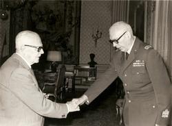 Pertini riceve il Gen. Broglio
