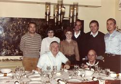 Gruppo PSM a casa di Jim Fleming, Dallas