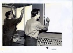 Antonio Parton ed Enea Piombino, Radar, Lancio SM-1, Wallops Island, 1964
