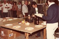 Pranzo in piedi al Butler 4, WI 1982