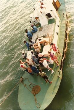 Motobarca ormeggiata alla San Marco, marzo 1988.jpg