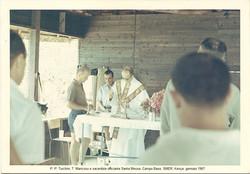 Messa al Campo Base - gennaio 1967