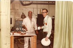 Parker Johnson e Tom Abbott, Wallops 1982