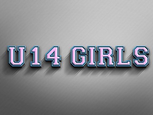 U14 GIRLS Photo Package
