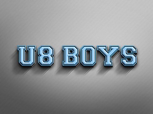 U8 BOYS Photo Package