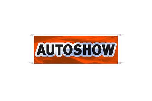 Spandoek Autoshow 3x1m