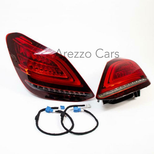 Original Mercedes Benz Facelift LED Rear lights C-Class W205