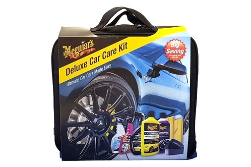 Meguiars Deluxe Car Care Kit (8-delig)