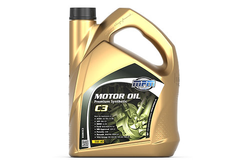 5W40 C3 Premium Synthetic 5L Engine Oil - MPM