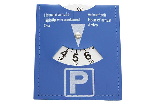 Parking disc packaged - Universal