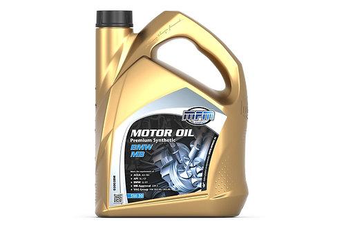 Premium 5W30 BMW/MB Synthetic 5L Motorolie - MPM