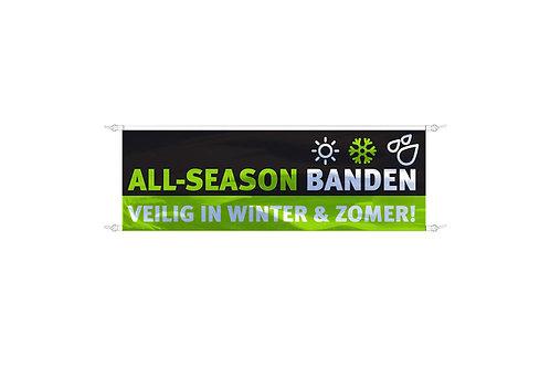 Spandoek All-Season Banden 3x1m