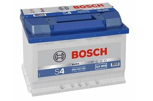 Battery Bosch S4 009 12V - 74Ah 57413 57219