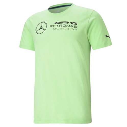 AMG Petronas T-Shirt Heren - Puma Origineel Mercedes-Motorsport collection Groen