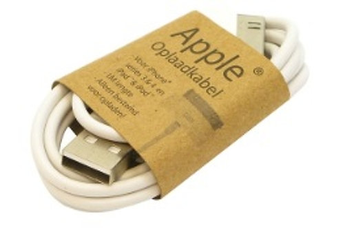Charging cable Apple 30-Pins 1 meter, White