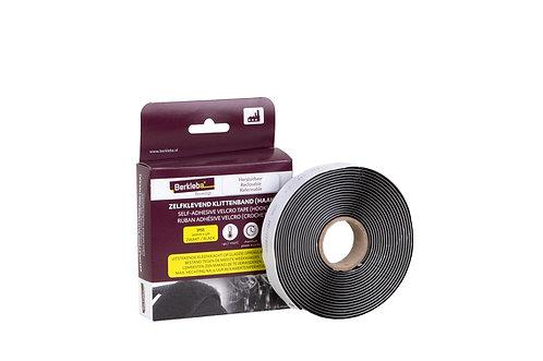 Zelfklevend Klittenband Lus + Haak - 20 mm x 5 Meter - Zwart - Sterk - Polyamide