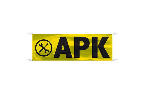 Spandoek APK 3x1m