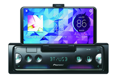 Pioneer 1-Din Smartphone Radio - Bluetooth, Usb, Iphone - Autoradio