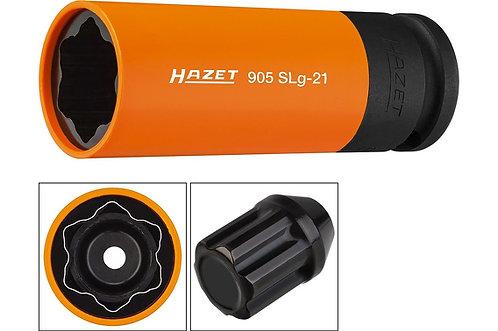 Hazet 1/2 inch Krachtdop 21mm Hyundai, Kia Profiel