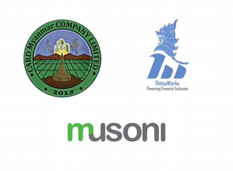 CARD Myanmar joins hands with Musoni and ThitsaWorks to accelerate digitalisation in Myanmar