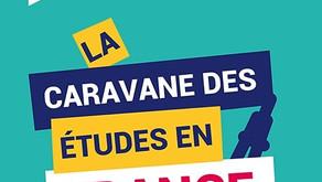 LA CARAVANE DES ÉTUDES EN FRANCE