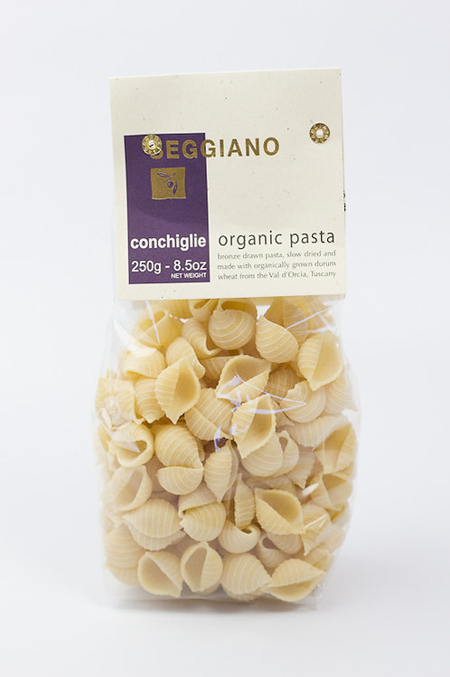 Seggiano Organic Conchiglie Pasta 250g