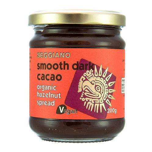 Seggiano Organic Smooth Dark Cacao Hazelnut Spread