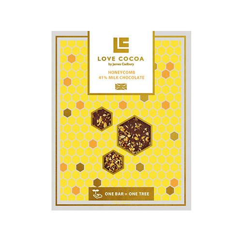 Love Cocoa - Honeycomb 41% Milk Chocolate Bar