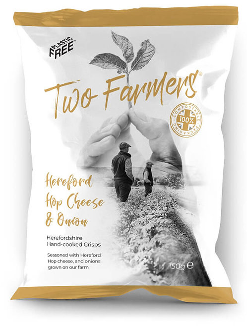 Two Farmers Hereford Hop Cheese & Onion  Crips150g