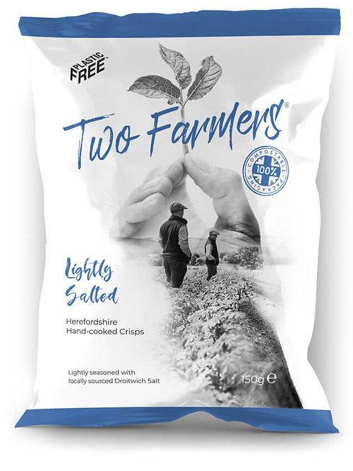 Two Farmers  Lightly Salted Crips 150g