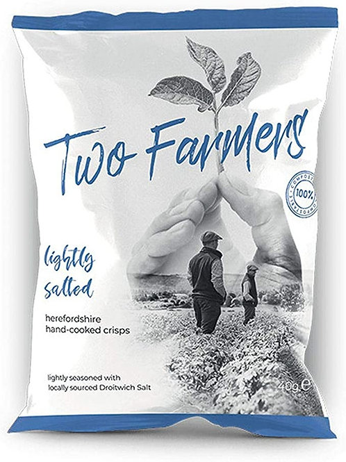 Two Farmers  Lightly Salted Crips 40g