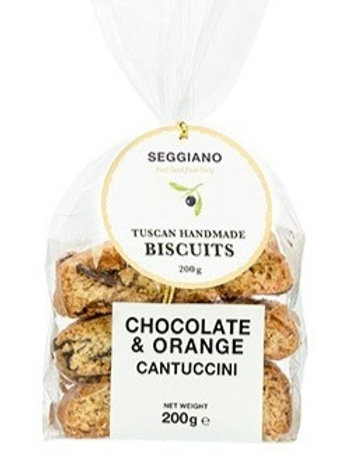 Seggiano orange & chocolate cantuccini 200g