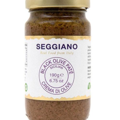 Seggiano Black Olive Paté 190g