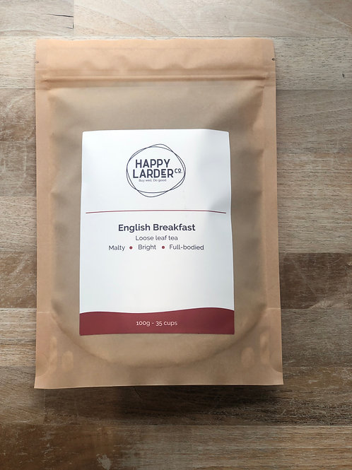 Happy Larder English Breakfast Tea 100g