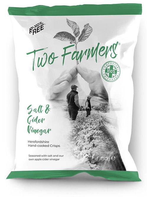 Two Farmers  Salt & Cider Vinegar Crips 150g
