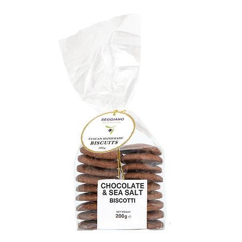 Seggiano Sea Salt & Chocolate Biscuits