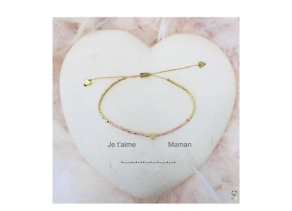 Je t'aime Maman Bracelets/Morse