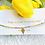 Thumbnail: Bracelet de cheville jaune soleil 🌞