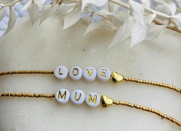 Bracelet Love/Mum