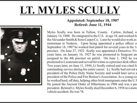 In Remembrance of our Patriarch Myles Scully