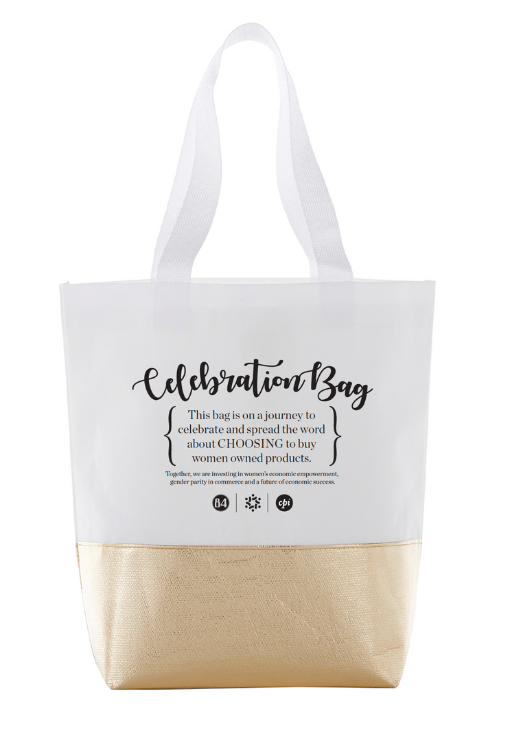 Tote Bags - Metallic Accent