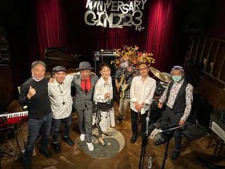 調布GINZ  TORA&YASUKO with IRIE Amigos LIVE終了