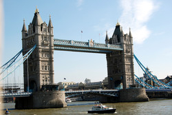 Tower Bridge and Tower, London