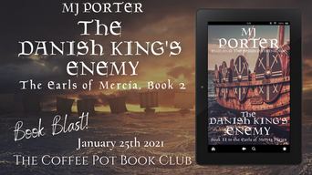 "The Coffee Pot Book Club Presents ""The Danish King's Enemy"" by MJ Porter"