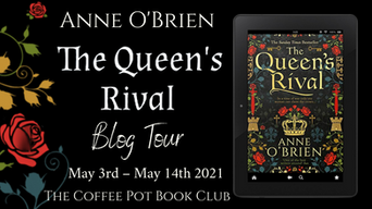 """The Coffee Pot Book Club Presents """"The Queen's Rival"""" by Anne O'Brien"""