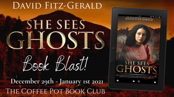 "The Coffee Pot Book Club Presents ""She Sees Ghosts"" by David Fitz-Gerald"