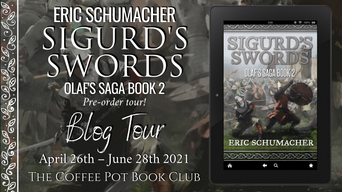 "The Coffee Pot Book Club Presents ""Sigurd's Swords"" by Eric Schumacher"