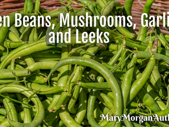 Friday Feast | A Side of Delicious Green Beans and Book Sale