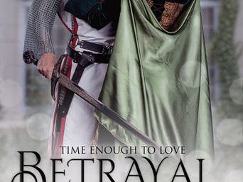 """The Worst Betrayals Come from Within in """"Betrayal"""" by Jenna Jaxon"""