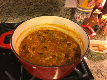 Friday Feast | Turkey Pumpkin Chili